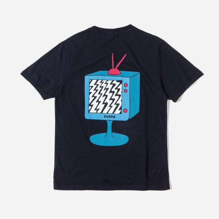 by Parra Channel Zero T-Shirt
