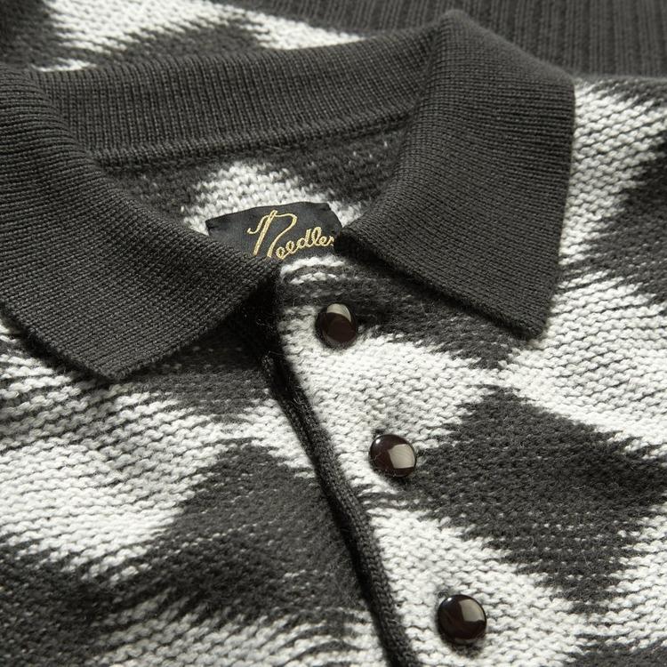 Needles Checkered Polo Shirt