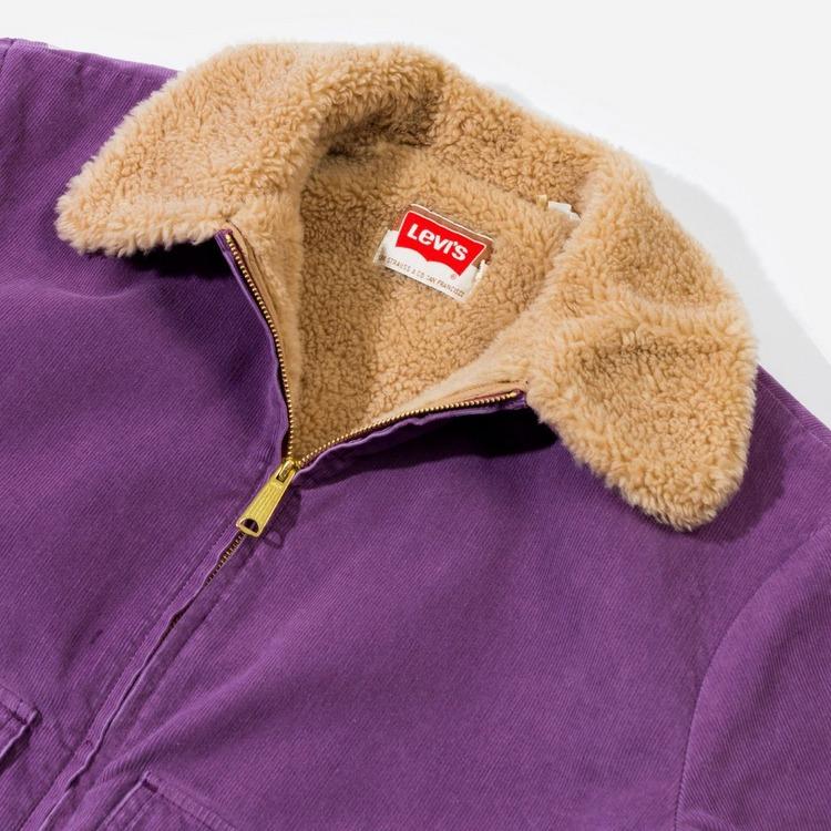 Levis Cord Sherpa Jacket