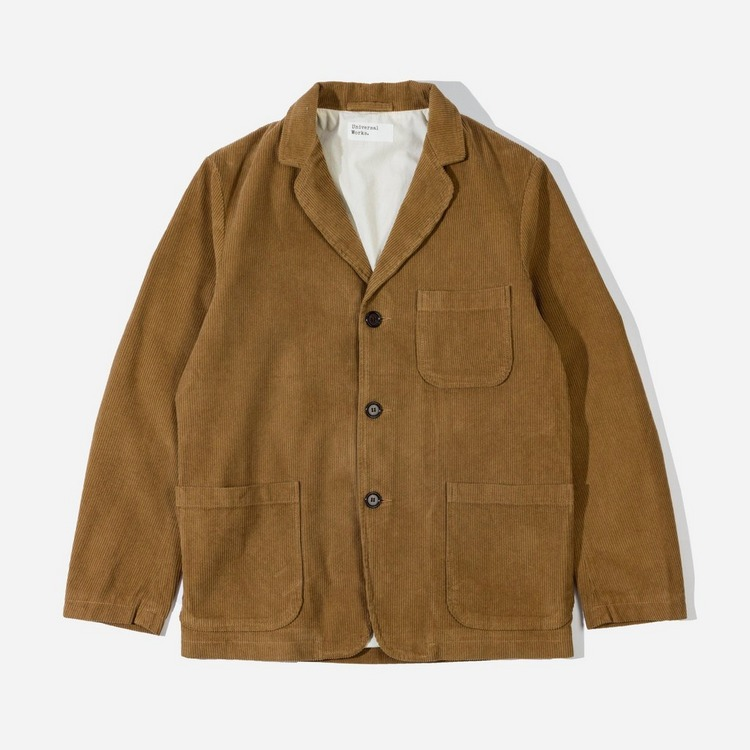 Universal Works Corduroy Three Button Jacket