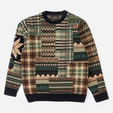Beams Plus Crew Patch Jumper