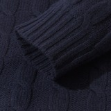 NN07 Fabian 6333 Lambswool Cable Knit