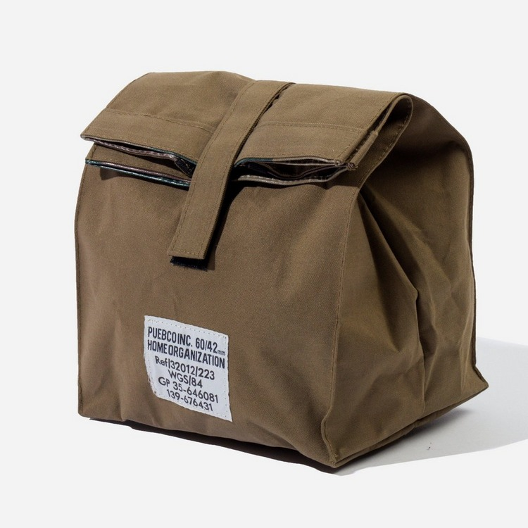 Puebco Fabric Lunch Box Bag