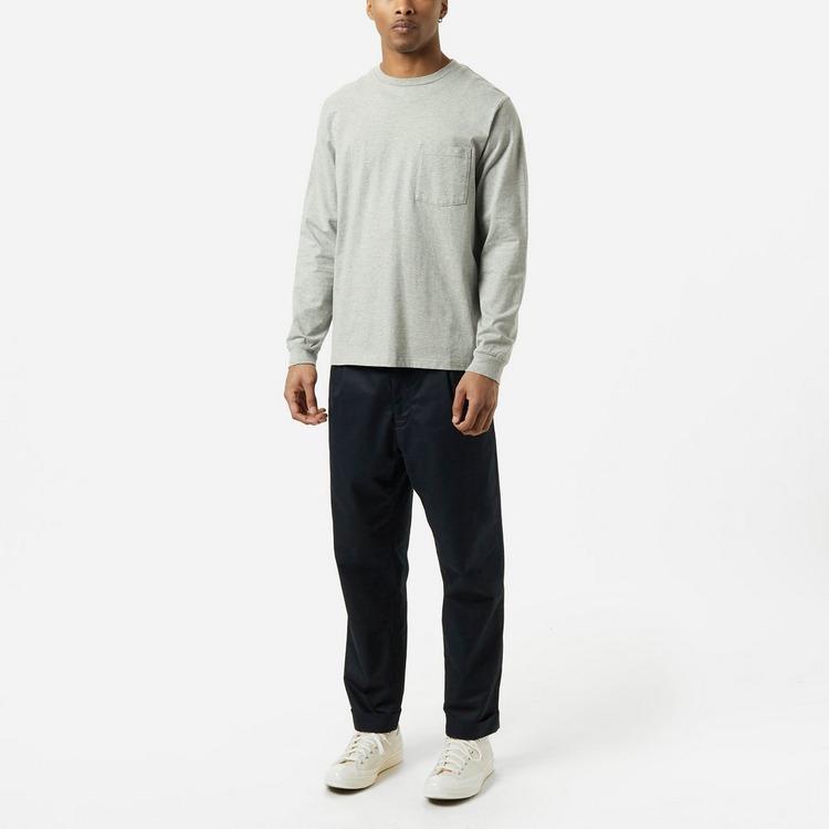 Beams Plus Gym Long Sleeve Pocket T-Shirt