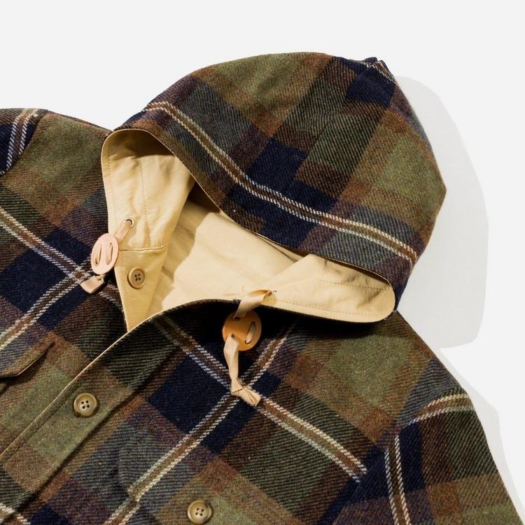 Beams Plus CPO Hooded Reversible Jacket