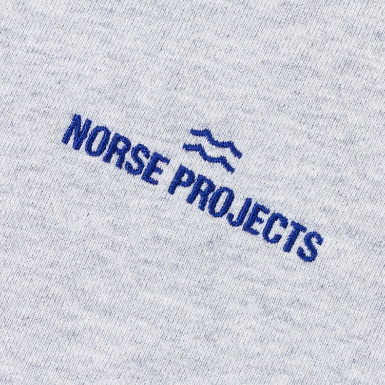 Norse Projects Ketel Wave Logo Sweatshirt