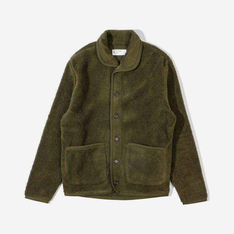 Universal Works Lancaster Fleece Jacket