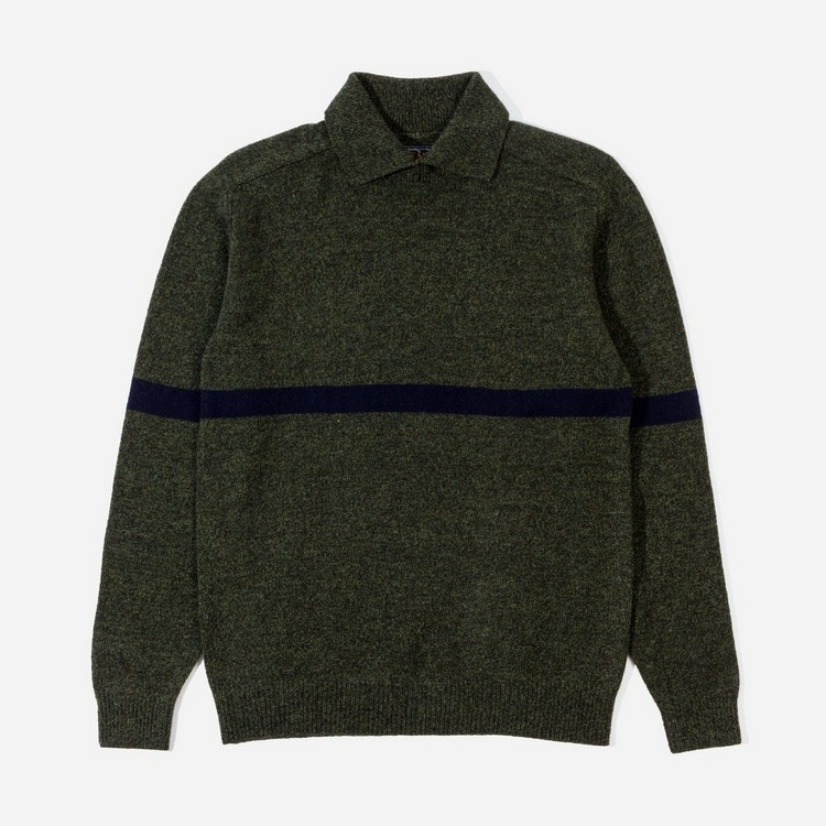 Beams Plus Collar Knit