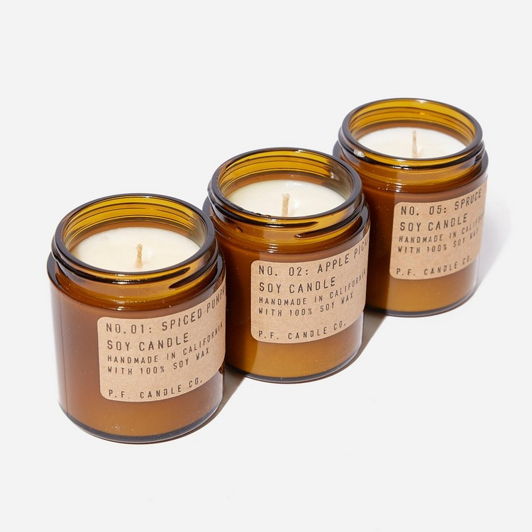 P.F. Candle Co. Seasonal Classics Mini Soy Candle Set 3.5oz