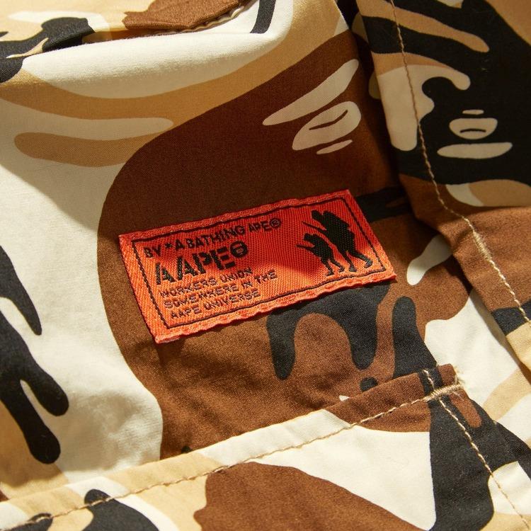 AAPE By A Bathing Ape Camo Overshirt