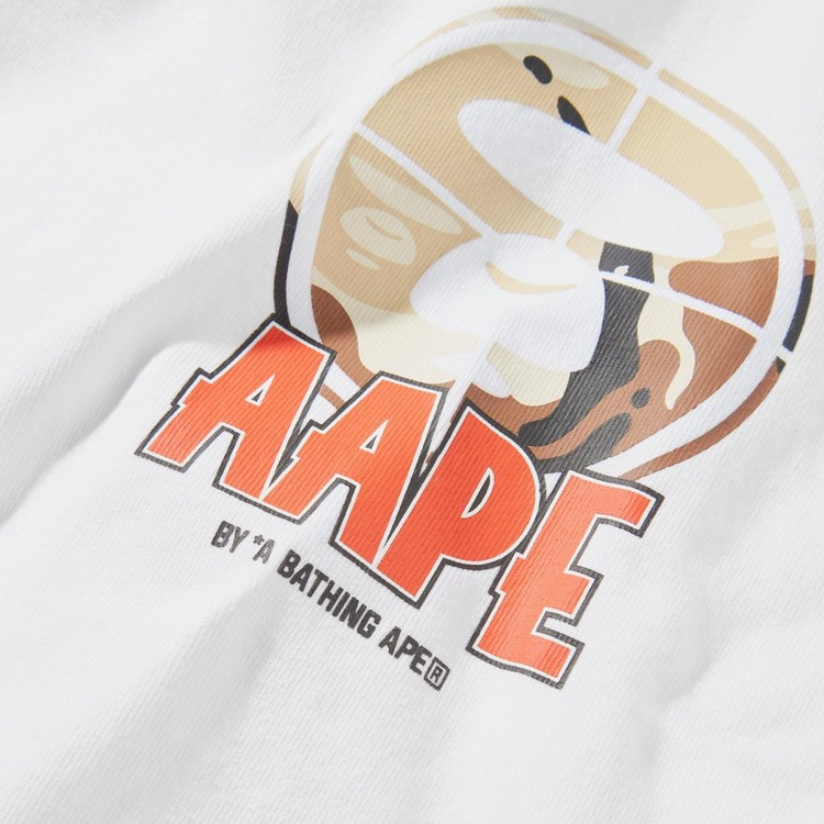 AAPE By A Bathing Ape Chest Logo T-Shirt