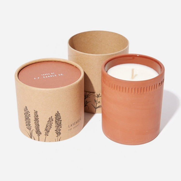 P.F. Candle Co. No.03 Lavender Terra Candle 8oz