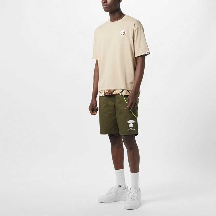 AAPE By A Bathing Ape Woven Chino Shorts