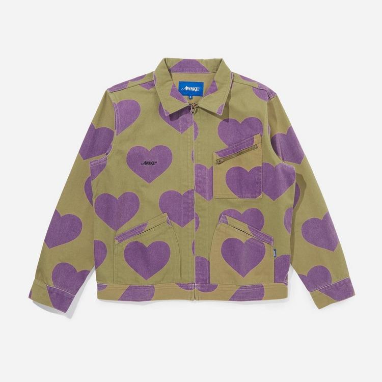 Awake NY Hearts Harrington Jacket