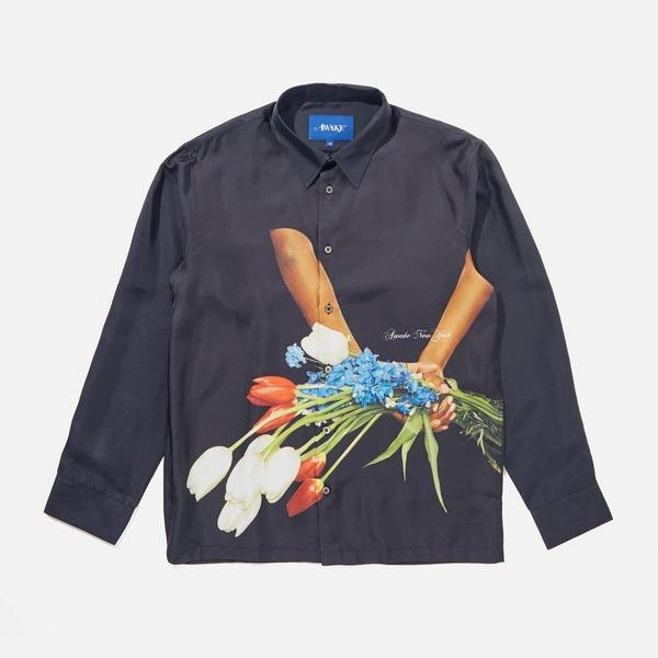 Awake NY Bouquet Silk Shirt