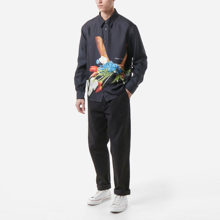 Awake NY Bouquet Silk Shirt