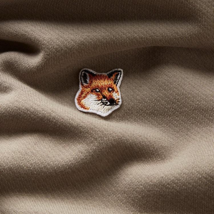 Maison Kitsune Fox Head Patch Hoodie