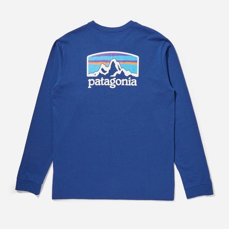Patagonia Fitz Roy Long Sleeved T-Shirt