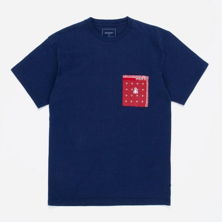 Sophnet Bandana Pocket T-Shirt