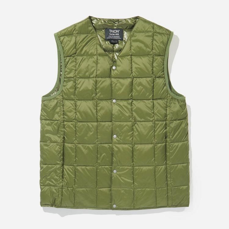 Taion V Neck Button Down Vest