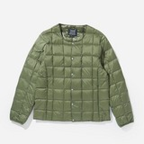 Taion Crew Neck Button Down  Jacket