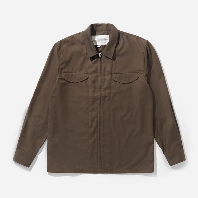 Uniform Bridge Zip Up Shirt Jacket