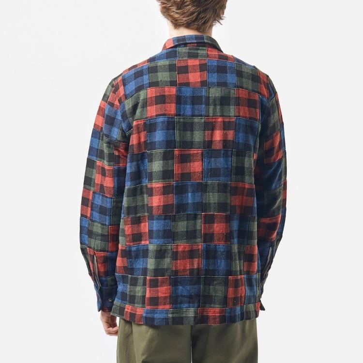 Universal Works Garage Patchwork Shirt