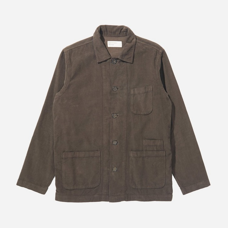 Universal Works Bakers Fine Cord Overshirt