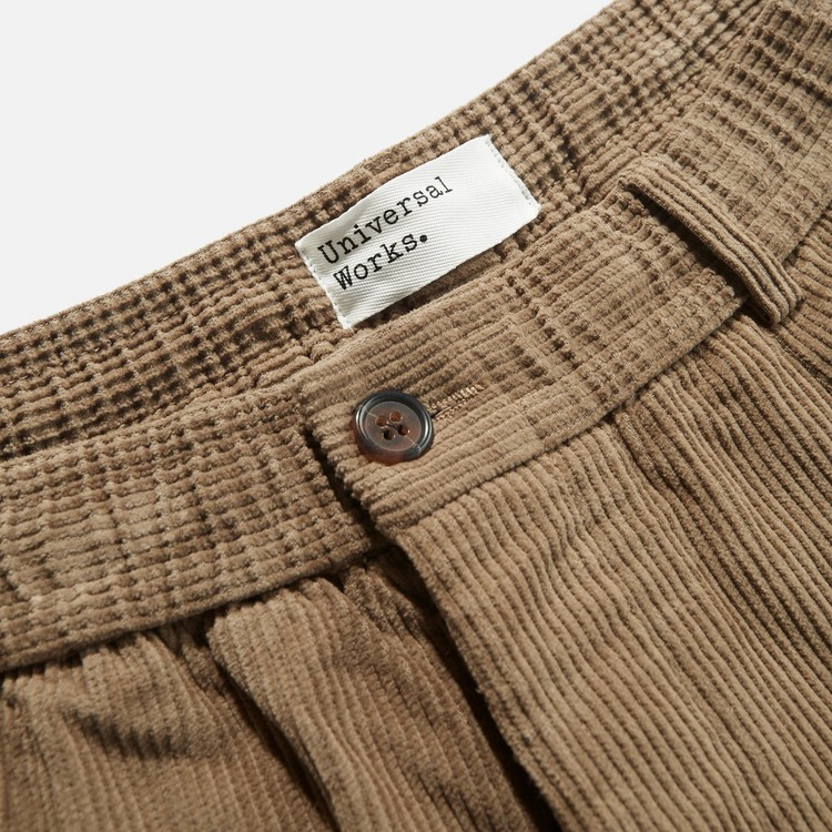 Universal Works Pleat Cord Trousers