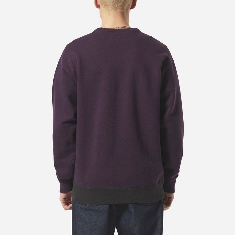 Wacko Maria Three Tone Washed Crew Sweatshirt