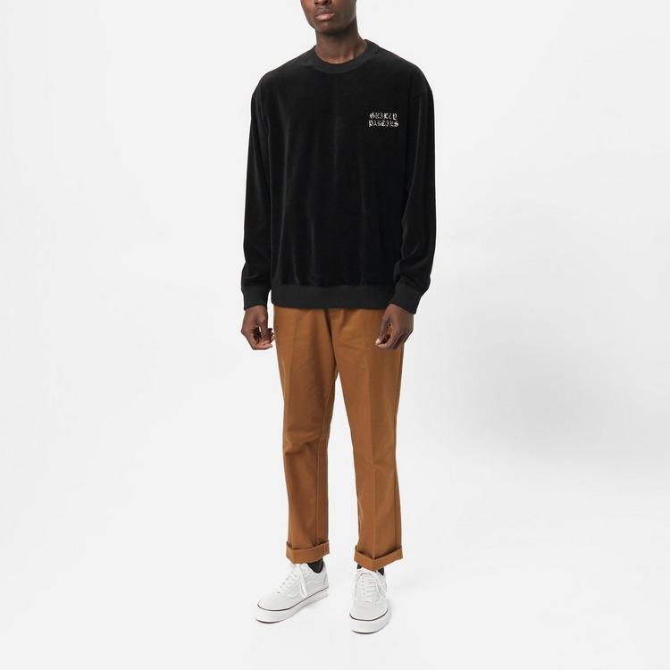 Wacko Maria Velour Crew Sweatshirt
