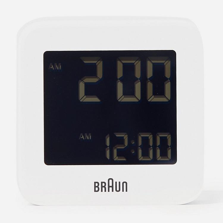 Braun Digital Alarm Clock