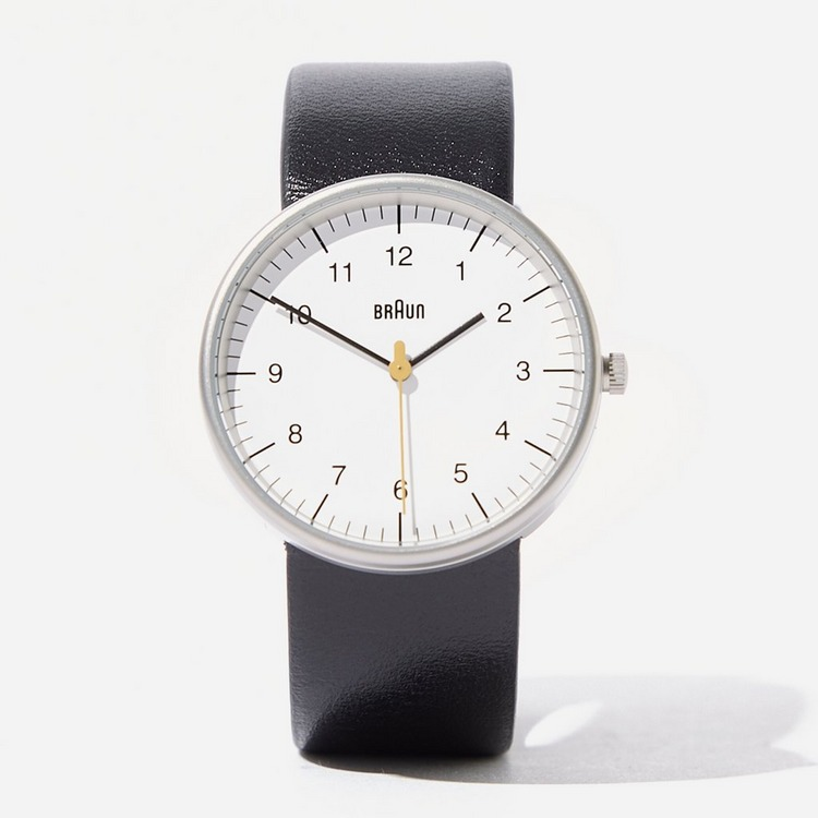 Braun Classic Leather Strap Watch