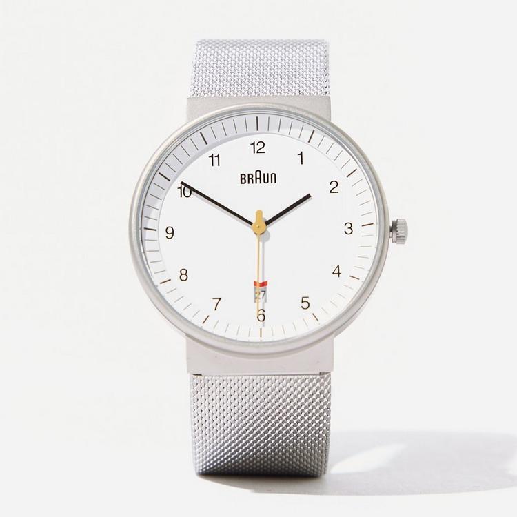 Braun Classic Mesh Strap Watch