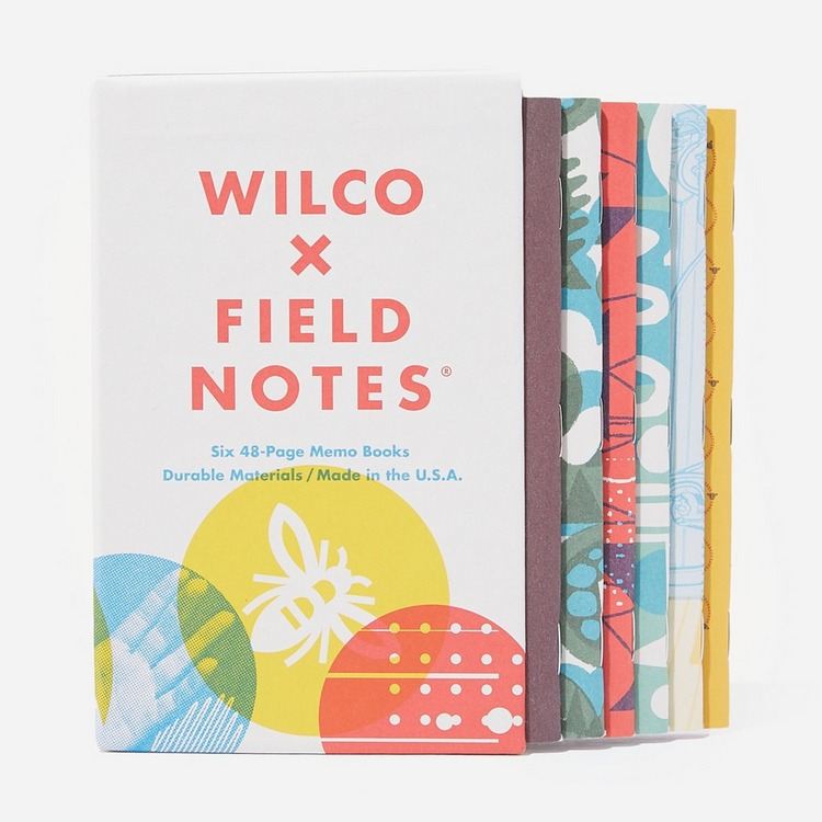 Field Notes Wilco 6 Pack
