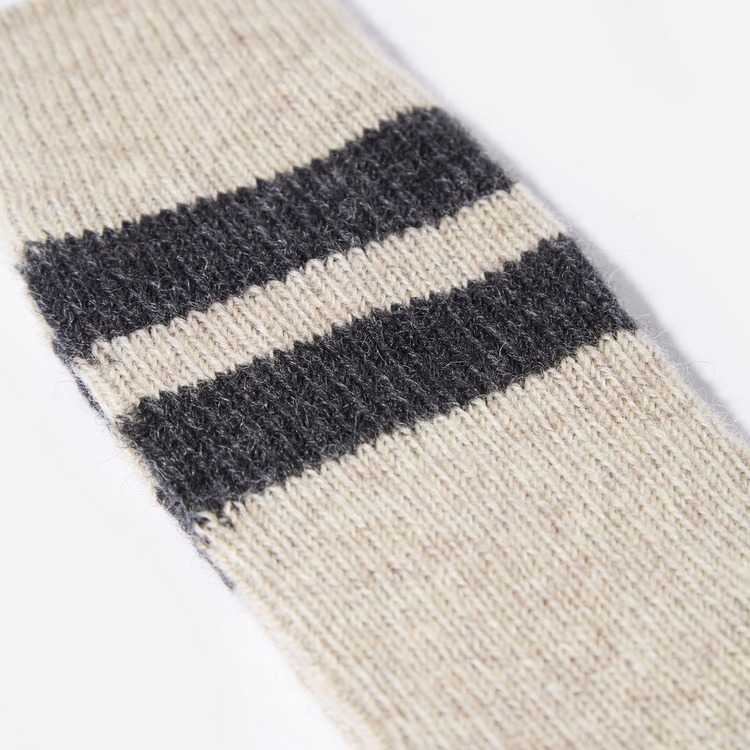RoToTo Socks Brush Mohair Raw Socks