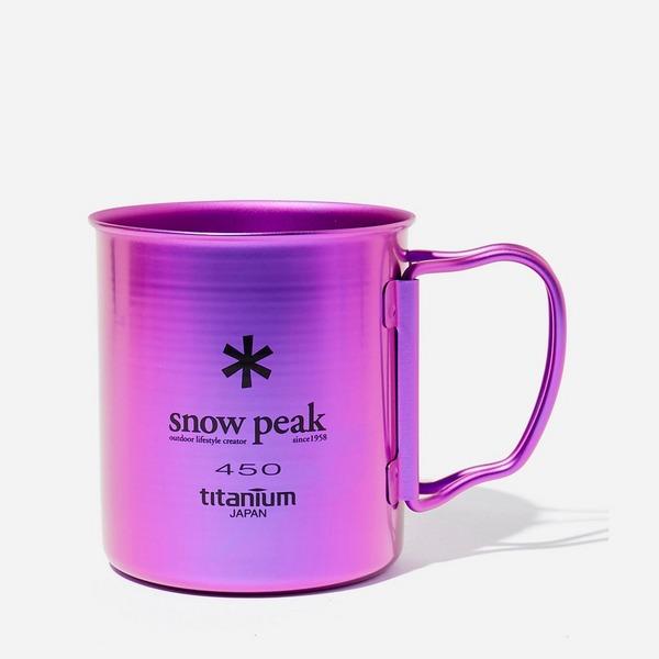 Snow Peak Titanium Single Wall Mug 450ml