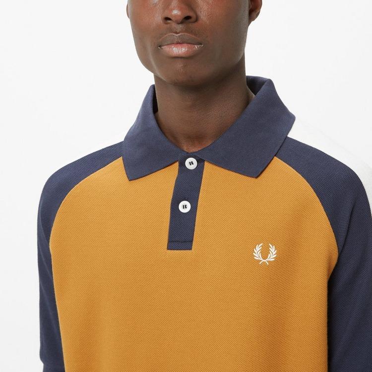 Fred Perry x Nicholas Daley Colour Block Polo Shirt