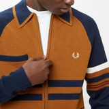 Fred Perry x Nicholas Daley Knitted Through Sweatshirt