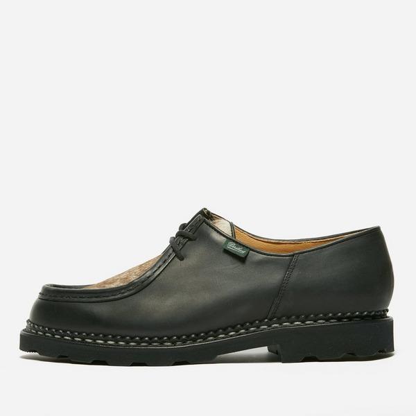 black-paraboot-michael-shoe