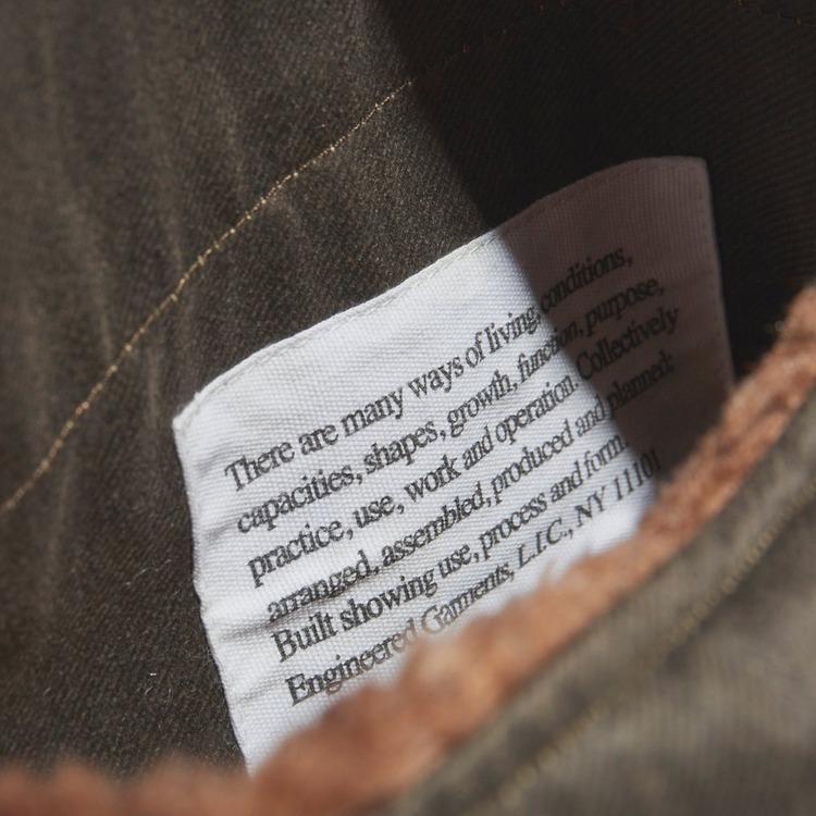 Engineered Garments Twill Over Vest