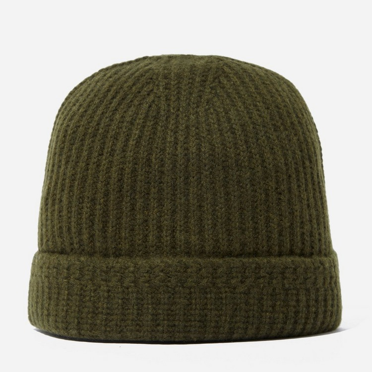 Visvim Wool Knit Ribbed Beanie