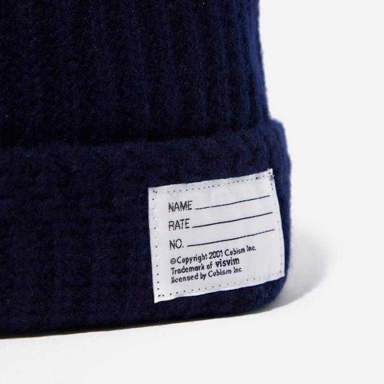 Visvim Wool Knit Ribbed Beanie