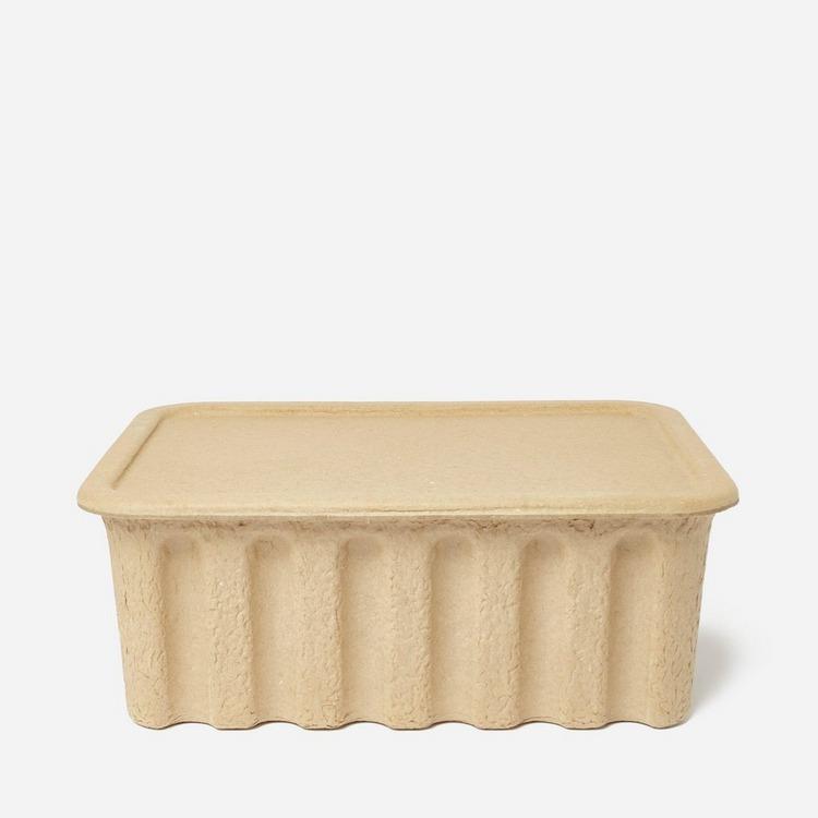 Ferm Living Large Paper Pulp Box Set Of 2