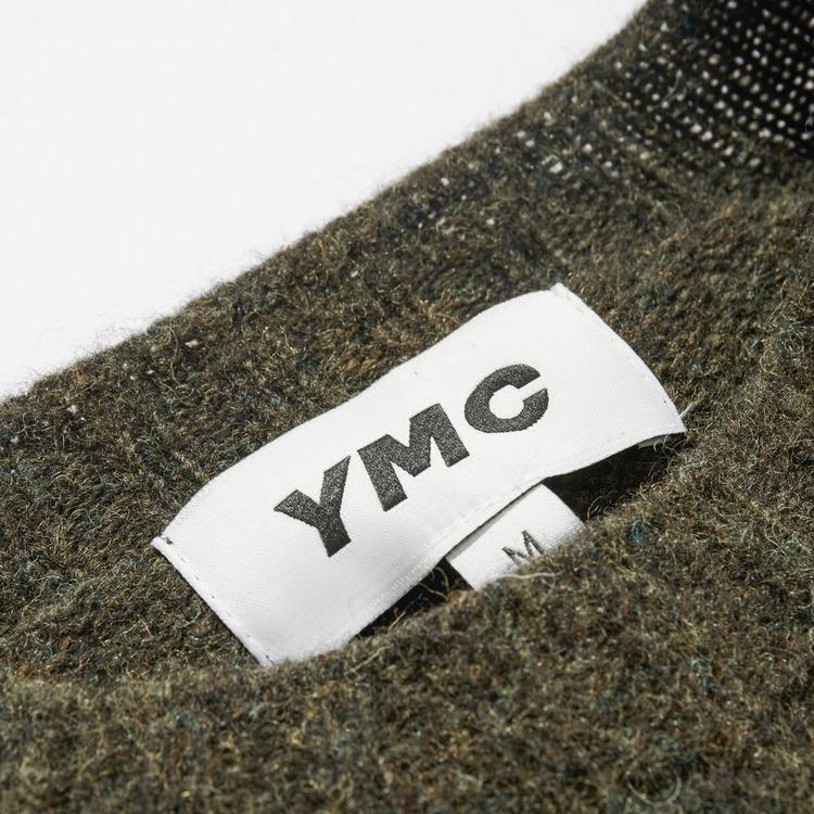 YMC Suedehead Lambswool Crew