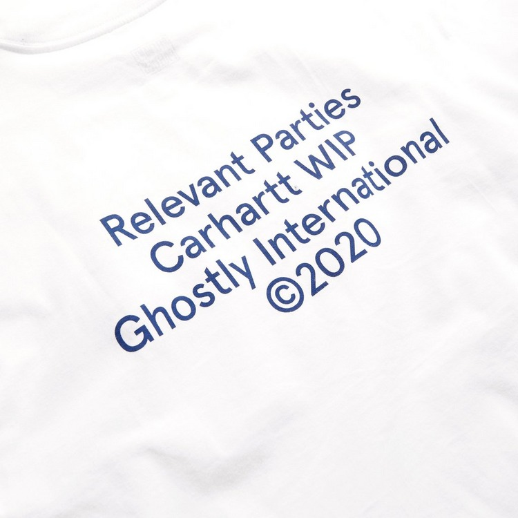 Carhartt WIP x Relevant Parties Ghostly International T-Shirt