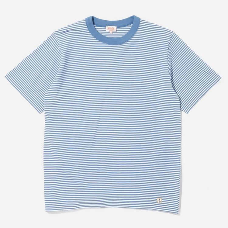 Armor Lux Fine Stripe T-Shirt