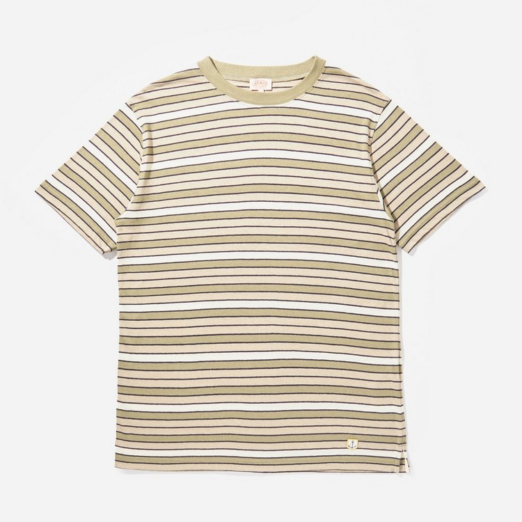 Armor Lux Multi Stripe T-Shirt