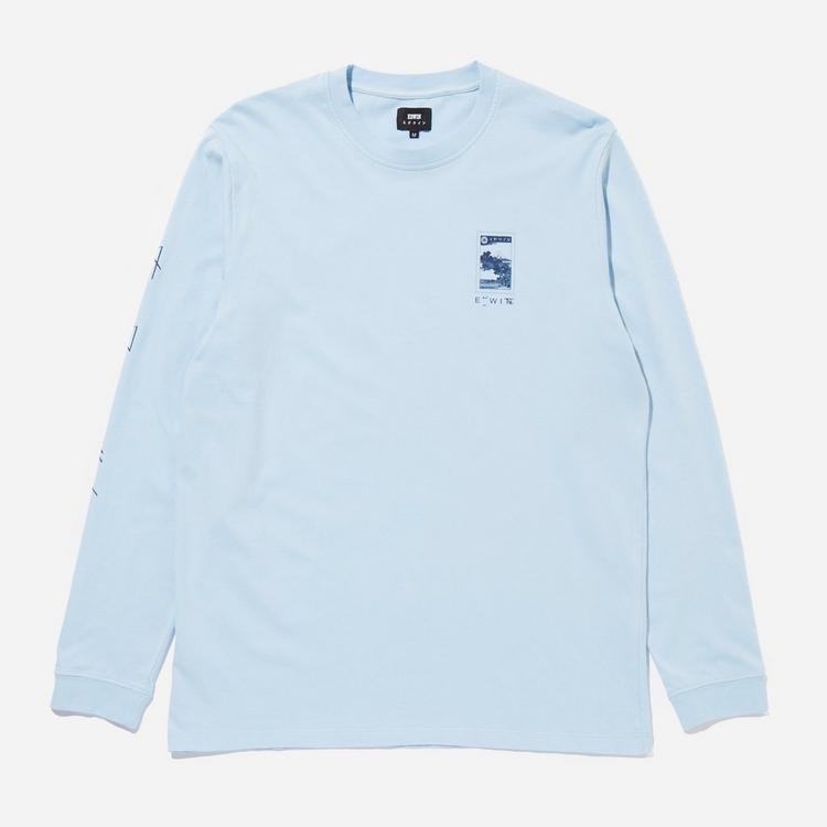 Edwin Fuji Scenery Long Sleeve T-Shirt