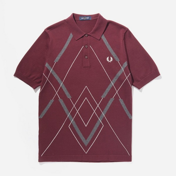 red-fred-perry-argyle-knitted-polo-shirt
